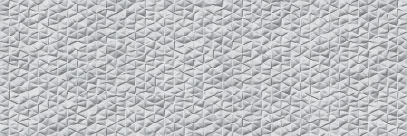 Tri Arc Gris Glazed, Glossy, Textured 12x36 Ceramic  Tile