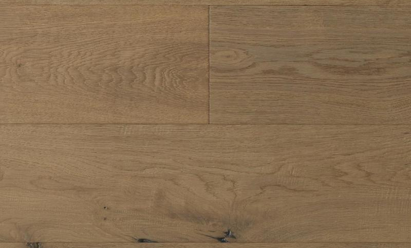 Capistrano Oak Collection Blonde 9.5xfree length, Wire-Brushed, Light Brown, Engineered-Wood