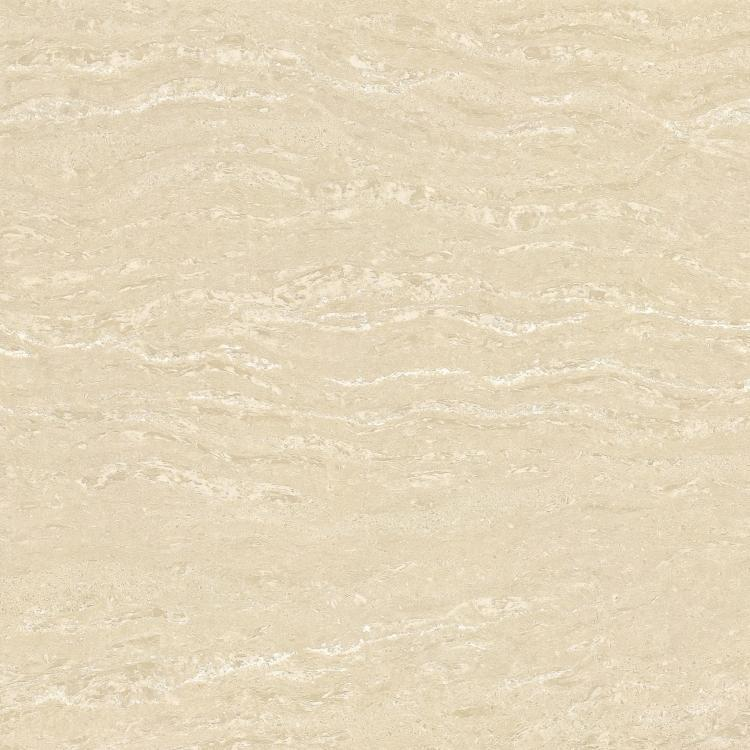 Crystal White Marfil Polished, Double Loaded 24x24 Porcelain  Tile