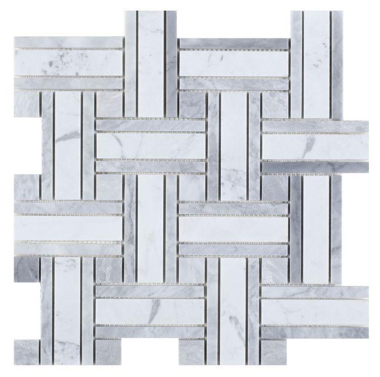Precious Stone Matrix Loft Windmill Polished Marble  Mosaic