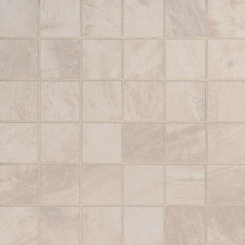 Porcelain Tile Praia Crema 2x2, Matte, Beige, Square, Mosaic