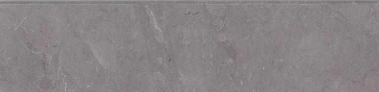 Lava Natural Grey Glazed, Polished 3x12 Porcelain Bullnose