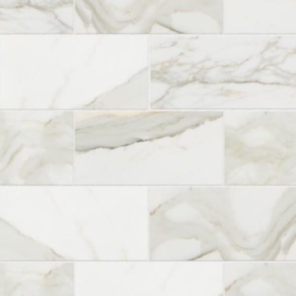 Calacata Gold Marble Tile 3x6 Honed  Subway