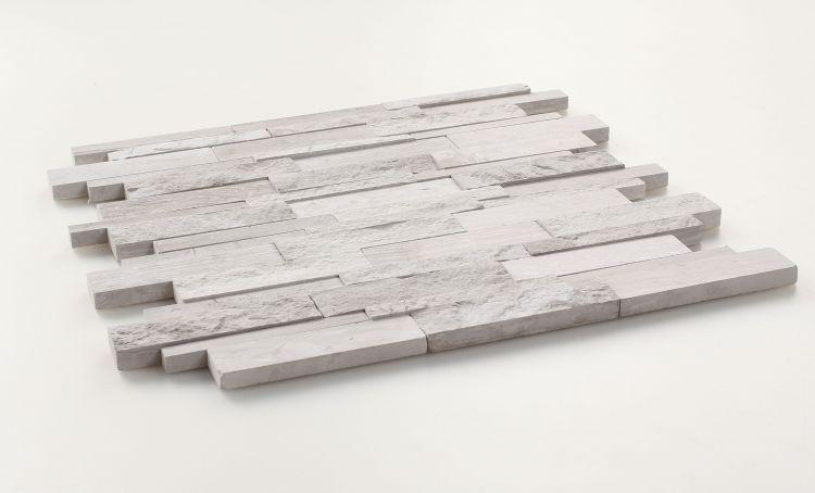 Precious Stone Egypt Grey Linear Polished Marble  Mosaic