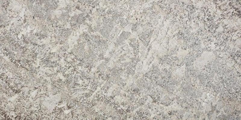 Granite Slabs Bianco Typhoon 2 cm, Satin, White, Slab