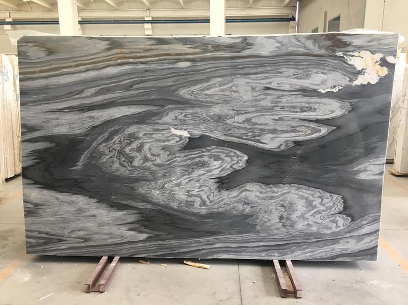 Pacifica Calacatta Cielo Polished Marble Slab