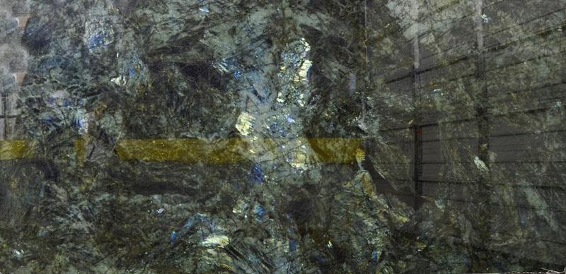 Granite Labradorite Blue Extra 57x120 0.75 in   Slab