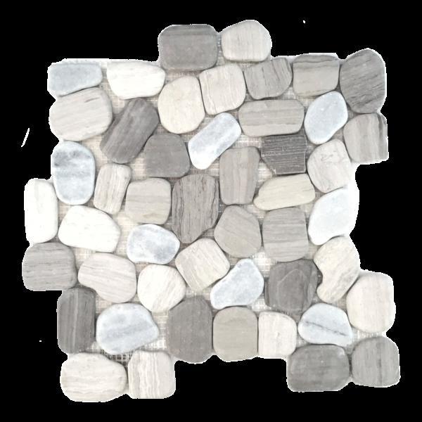 Pebble Mosaics Flat Matte Haisa Light Mosaic