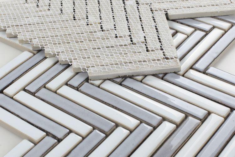 Hulu Dusk Chevron  Porcelain  Mosaic