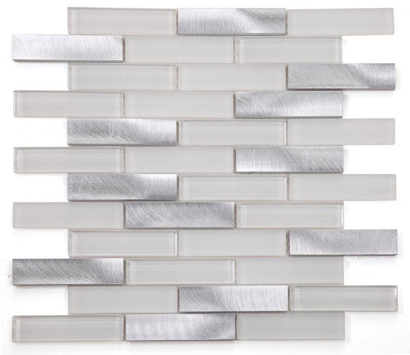 Metal Aluminum Linear    Mosaic