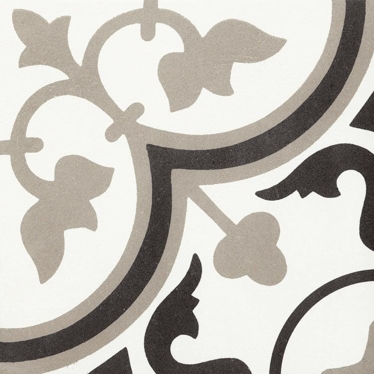 Reverie Décor 6 8x8, Glazed, Square, Through-Body-Porcelain, Tile