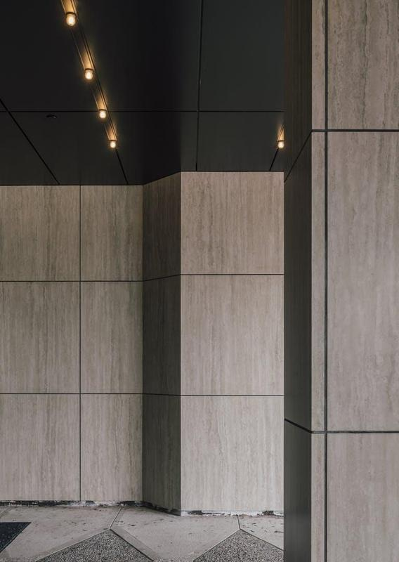 Group 0 Natural Collection Tiles Sterling Suggested Size 28x42, Smooth-Matte, Greige, Porcelain, Tile