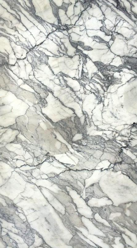 Marble Slabs Calacatta Crystal 0.79 in Polished Natural Stone Slab