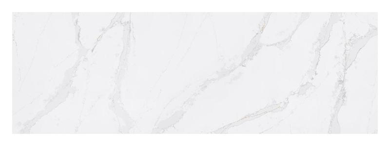 Eternal Calacatta Gold Suede 12x36 Quartz  Tile