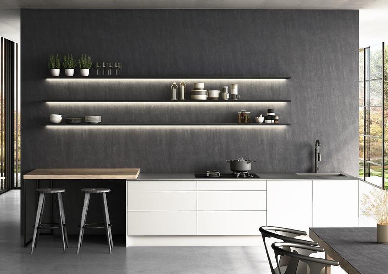 Group 1 Natural Tiles Bromo Suggested Size 28x42, Textured, Dark Grey, Porcelain, Tile