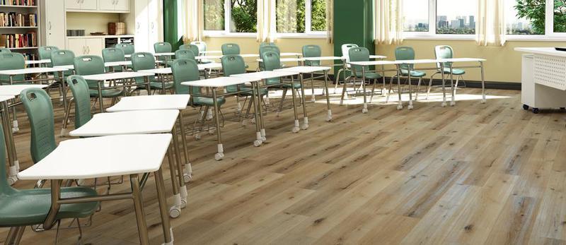 The Woodland Oak Collection Chestnut 7x60, Aluminum-Oxide, Stone-Plastic-Composite