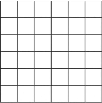 Unicom Icon Gunpowder 2x2, Concrete, Natural, Gray, Square, Porcelain, Mosaic