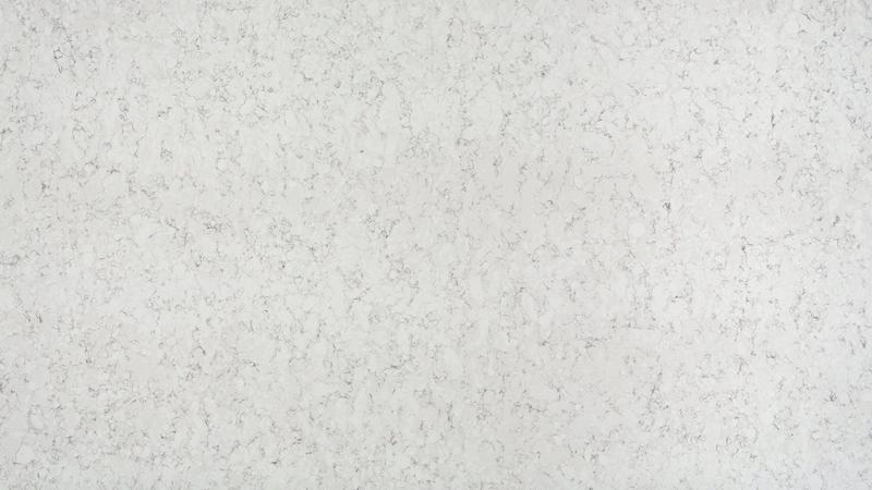 Group 4 Blanco Orion Regular Size 55x120 20 mm Polished Quartz Slab