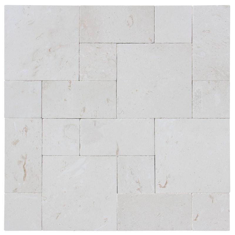 Desert Sand Limestone Tile Random Tumbled