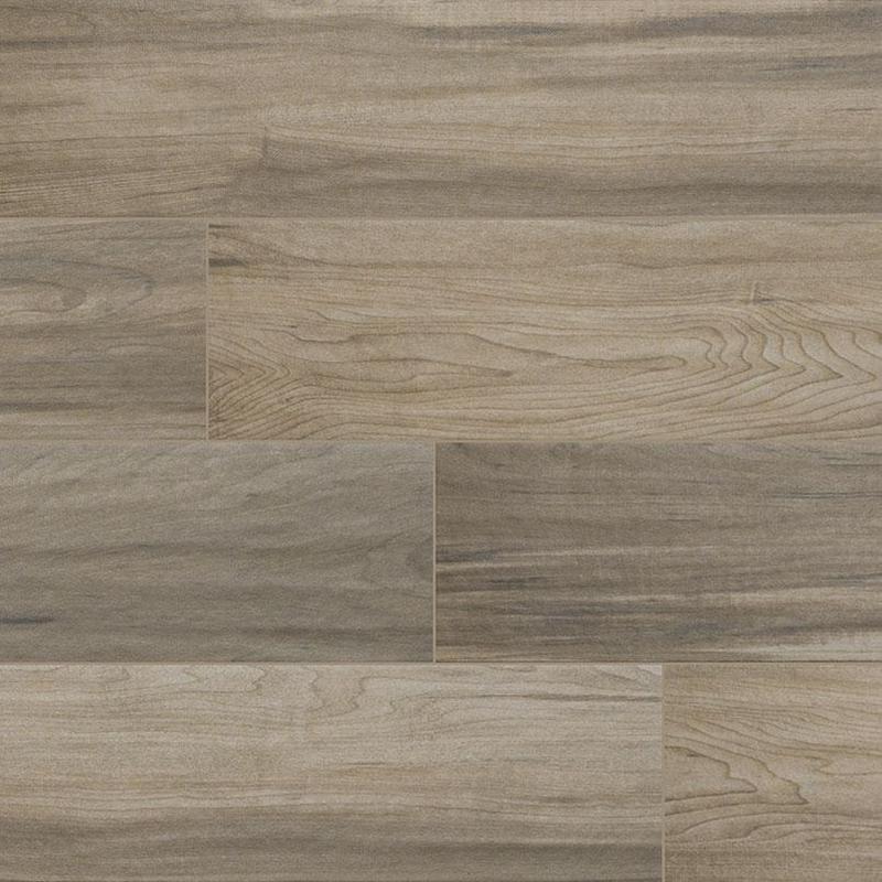 Porcelain Tile Carolina Timber Beige 6x24, Matte, Plank