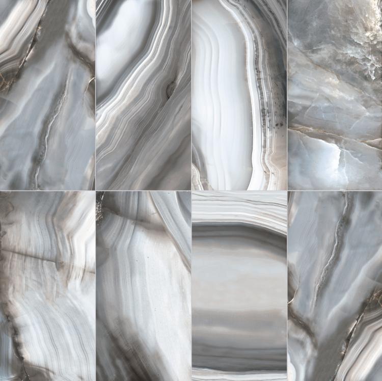 Alabastri Zaffiro Polished 32x71 Porcelain  Tile