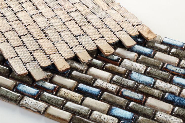 Roman Atlas 1x2 Brick, Stack  Porcelain  Mosaic