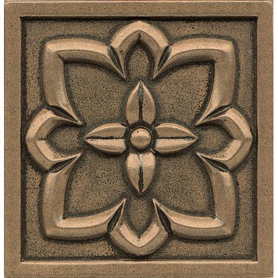 Ambiance Romanesque Bronze Glossy 4x4 Resin  Trim