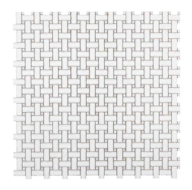 Diana Cross Thassos Windmill  Pearl  Mosaic