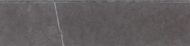 Lava Dark Grey Glazed, Matte 3x12 Porcelain Bullnose