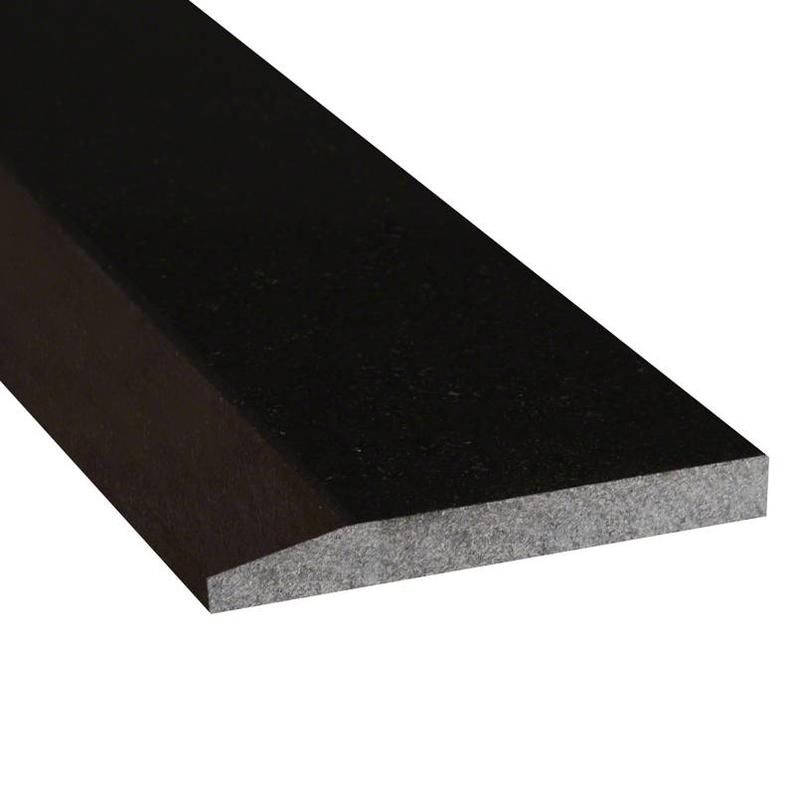 Thresholds And Sills Black Granite 4x36, Polished, Trim