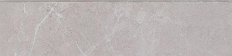 Lava Silver Grey Glazed, Polished 3x12 Porcelain Bullnose