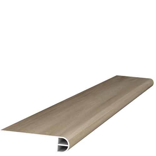 Spc Wood Carya Pecan 5x95 22 mil  Flush Stair Nose