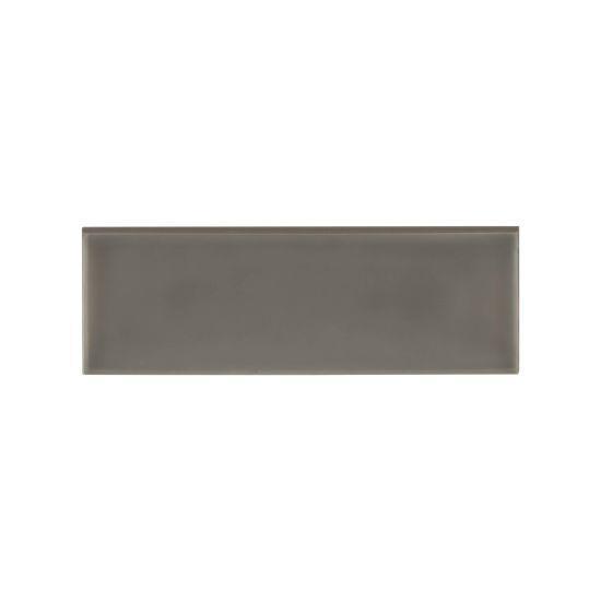 Grace Moka Glossy 4x12 Ceramic Surface Bullnose