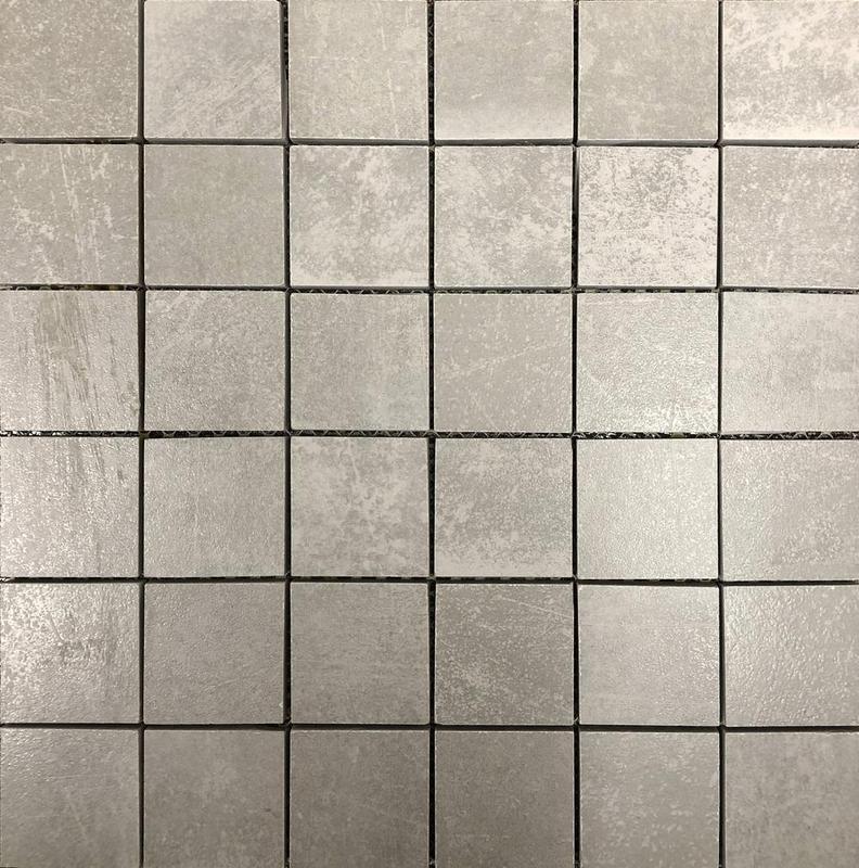 Shine Grey 2x2 Square Matte Porcelain  Mosaic