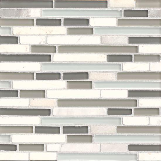 Eclipse Eternity Square Glossy Glass  Mosaic