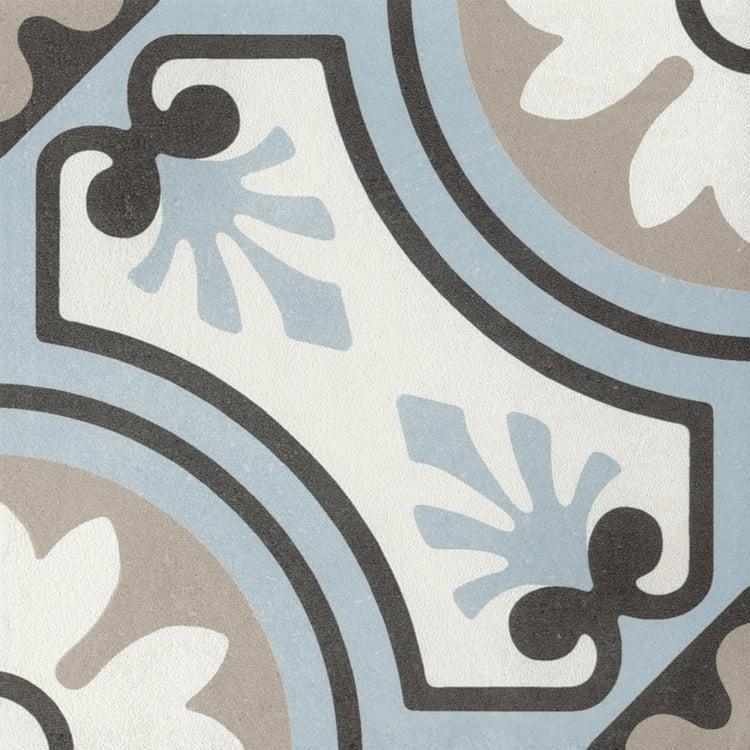 Reverie Décor 8 8x8, Glazed, Square, Through-Body-Porcelain, Tile