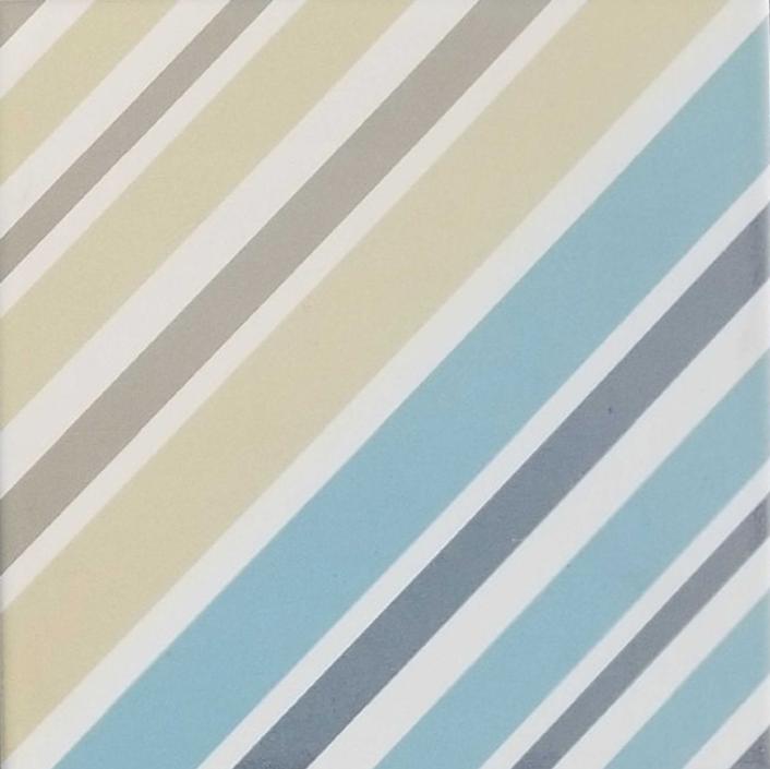 Dv Geometrico 8549 Matte 8x8 Porcelain  Tile