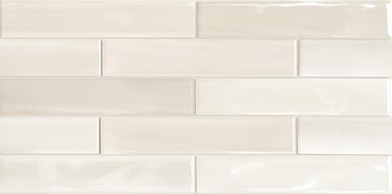 Porcelain Shadebrick Light Polished 3x12   Tile