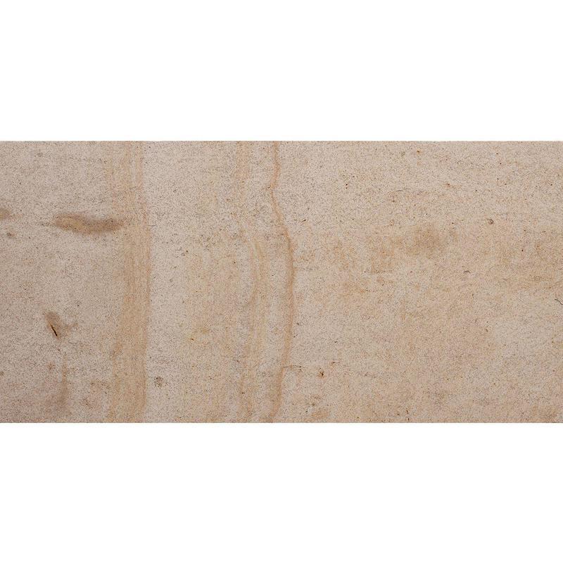 Beaumaniere Limestone Tile 12x24 Honed   0.5 in
