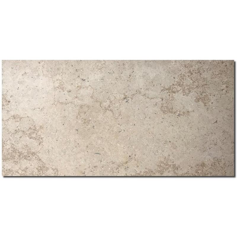 Sandy Creek Beige Limestone Tile 12x24 Honed