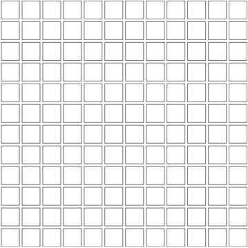 Unicom Icon Taupe Back 1x1, Concrete, Natural, Square, Porcelain, Mosaic