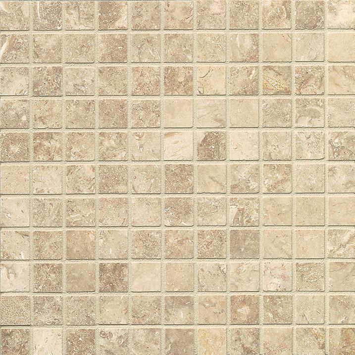 Limestone Camargo 1x1 Square Honed   Mosaic (Discontinued)