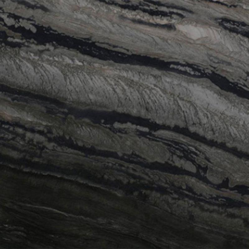 Quartzite Slabs Galapagos 30 mm, Polished, Multi-Color, Slab