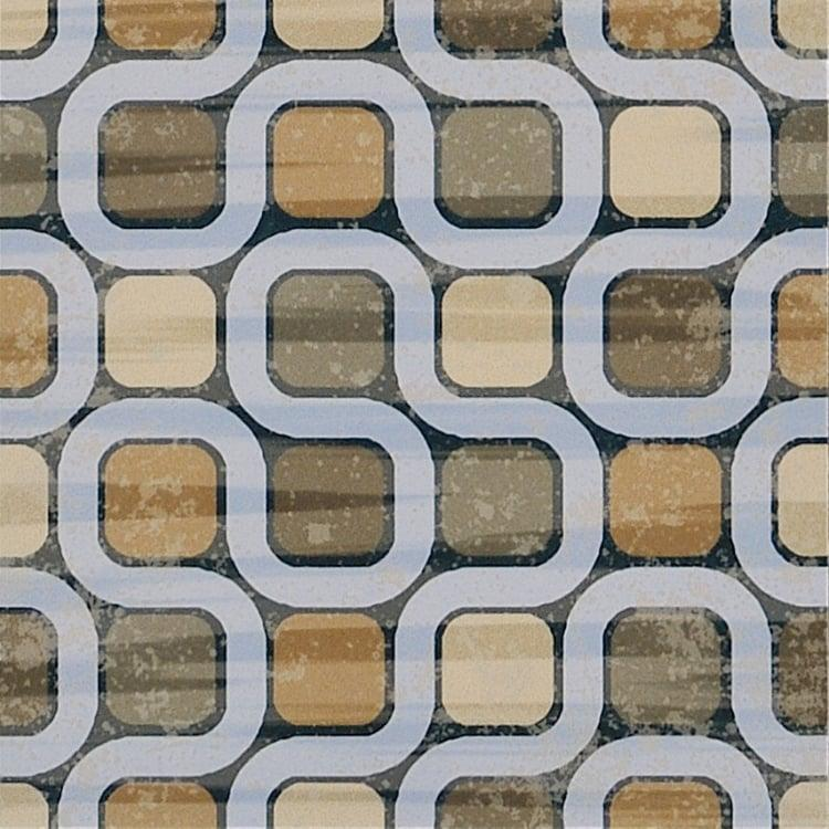 Cementine Evo 4 8x8, Glazed, Square, Porcelain, Tile
