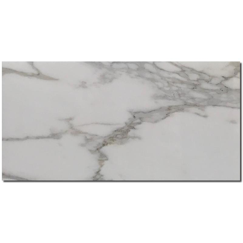 Calacatta Gold Marble Tile 12x24 Honed