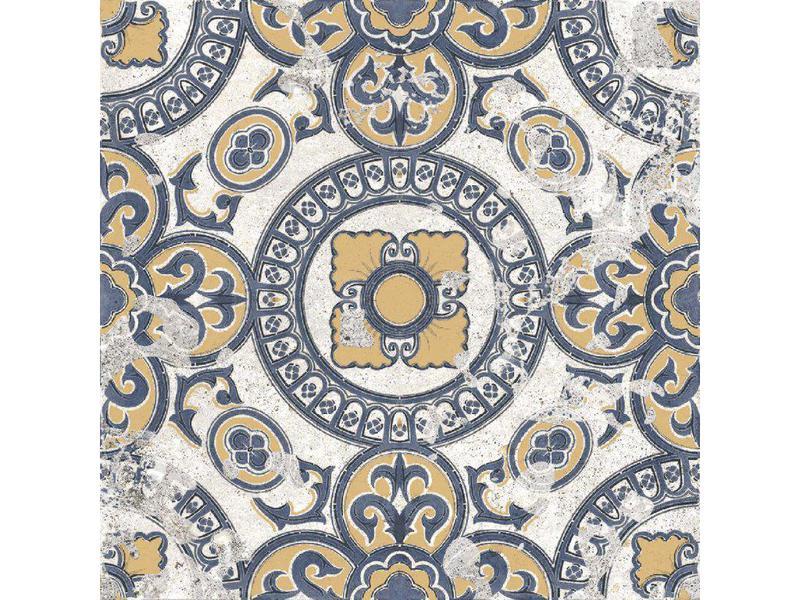 Batik Mystique Braga Glazed 8x8 Ceramic  Tile