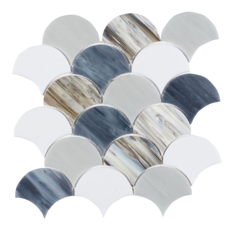 Newport Beach Scale  Glass  Mosaic