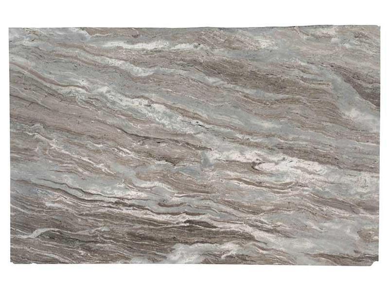 Marble Slabs Fantasy Brown 30 mm, Brushed, Slab