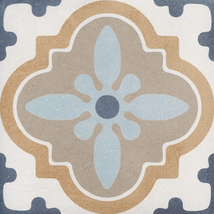 Reverie Décor 10 8x8, Glazed, Square, Through-Body-Porcelain, Tile