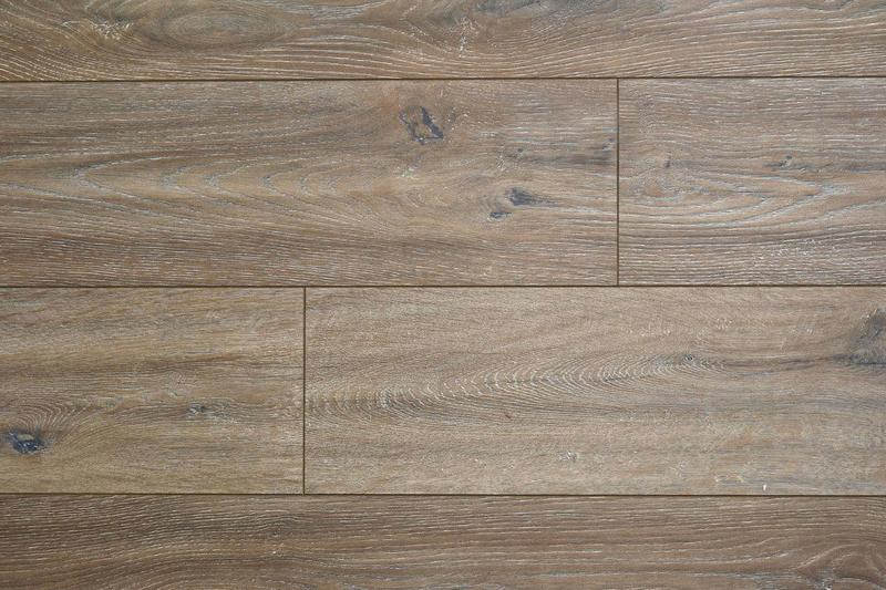 South America Collection Ac4 Mexico 8x48, Textured, Brown, Laminate